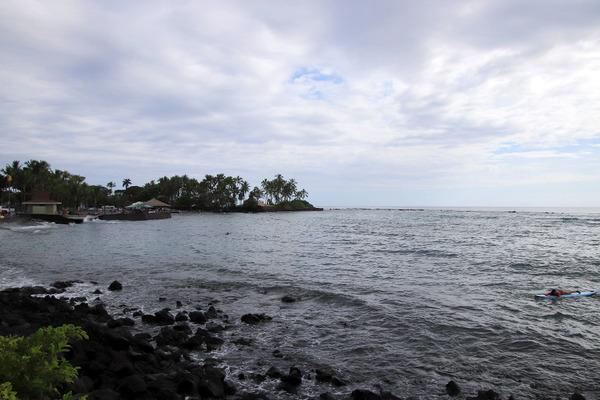 ハワイ島小さなブルーの教会結婚式カハルウビーチ 1