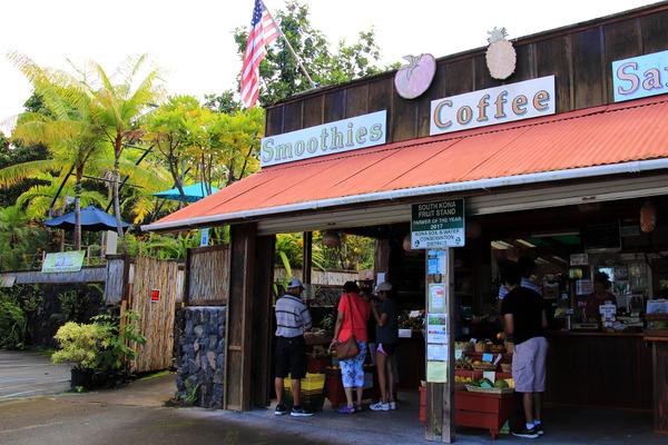 ハワイ島サウスコナフルーツスタンド 4