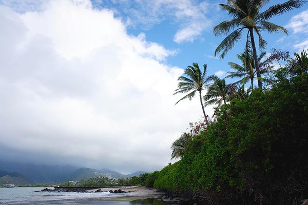 ハワイオアフ島ポートロックの秘密のベンチ 2