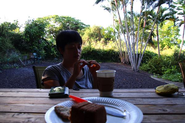 あのころハワイホテルのレストランで朝食 7