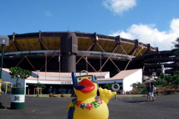 ハワイのアロハスタジアムが無期限閉鎖 1