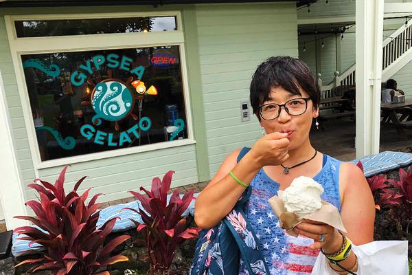 ハワイ カイルアコナの美味しいジェラート屋さん 8