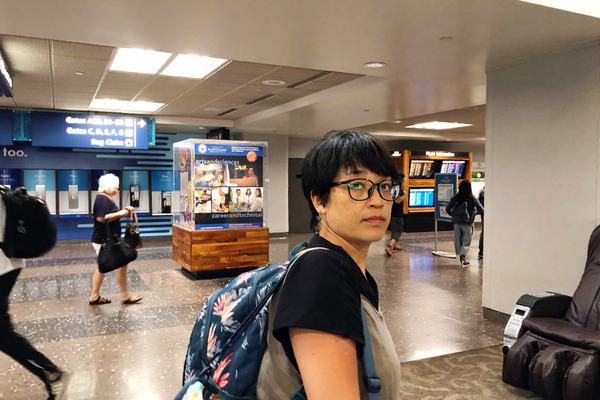ホノルル空港に到着 1