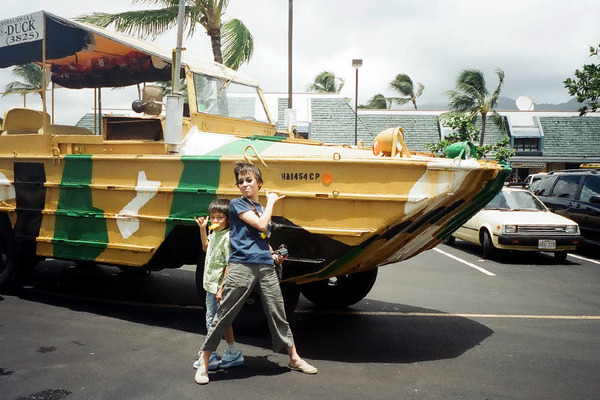ハワイのダックツアーに乗ってみた 6