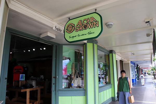 ハワイ ヒロ 人気のTシャツ アロハグロウン 1