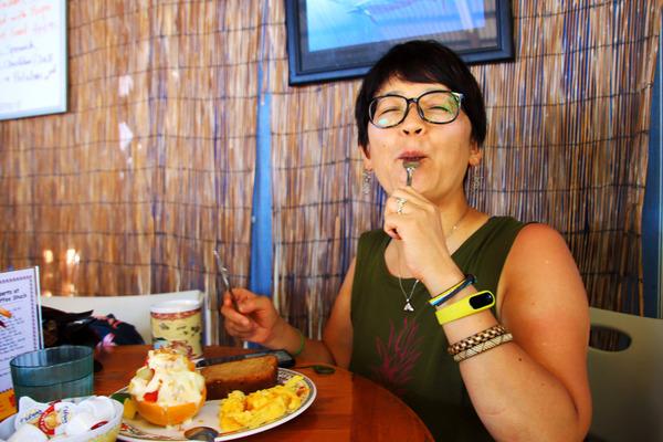 コーヒーシャックの朝食はハワイ島一番 7