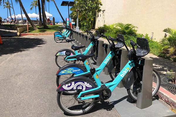 ハワイのレンタル自転車BIKIはとても便利 2