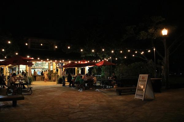 ある日の夕方散歩からのベアフットカフェ 4