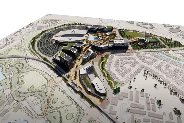 アロハスタジアムの再開発案1