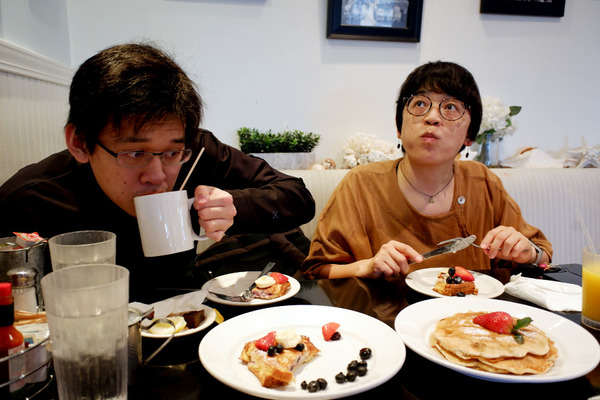 スイートイーズカフェで朝ごはん 9