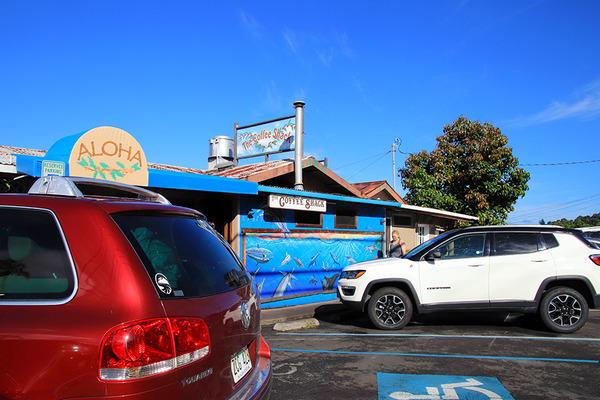 コーヒーシャックの朝食はハワイ島一番 11