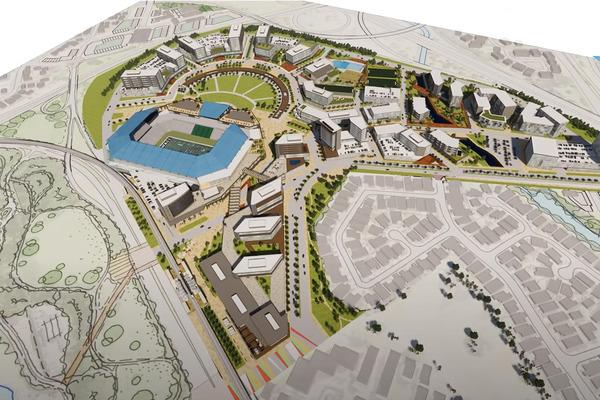 アロハスタジアムの再開発案2