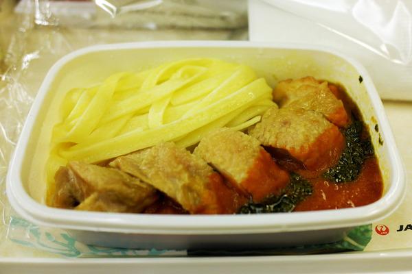 JALハワイ線機内食4