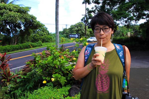 ハワイ島サウスコナフルーツスタンド 8