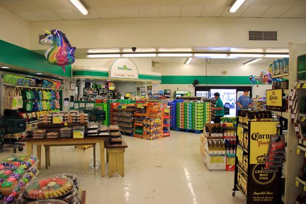 ハワイ ヒロのスーパーマーケット ガソリンの入れ方 2