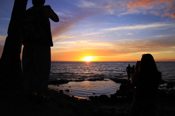 ハワイ ワイコロア サンセット 1