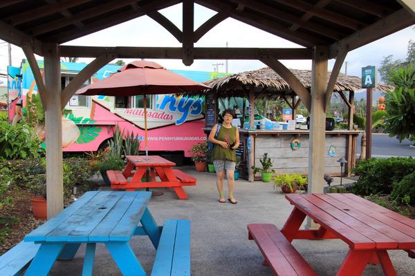 ポリネシア文化センターフキラウマーケットのマラサダ 8