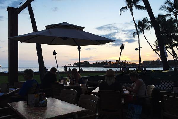 ハワイ島コナの最高サンセットレストランコナイン 4