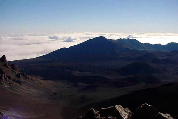 ハワイマウイハレアカラ山頂 2