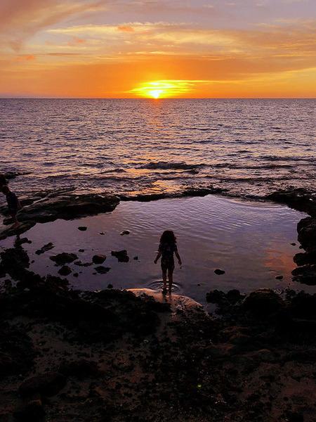 ハワイ ワイコロア サンセット 2