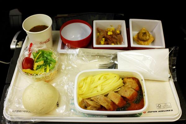 JALハワイ線機内食8