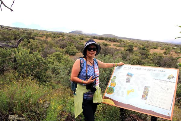 ハワイの固有種 マーマネとパリラ 1