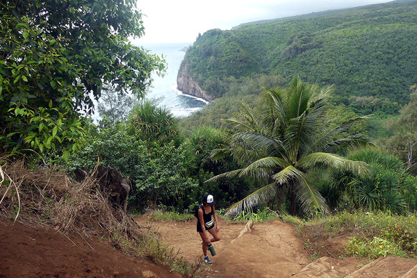 ハワイ島ポロル渓谷トレイル 6