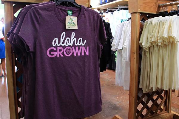 ハワイ ヒロ 人気のTシャツ アロハグロウン 4
