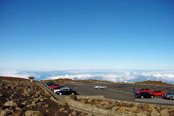 ハワイマウイハレアカラ山頂 4