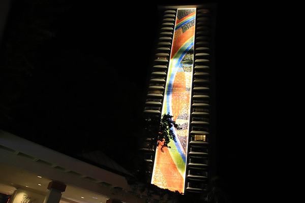 ヒルトンハワイアンビレッジの夜 5