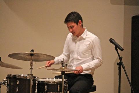 carl on drums
