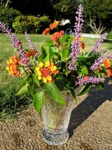 garage sale vase