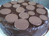 money chocolate cake