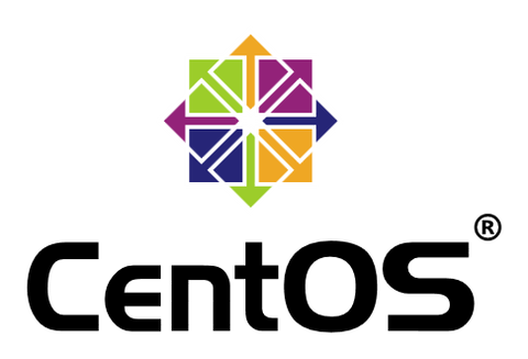 The CentOS Logo Vertical Version With Registered Trademark