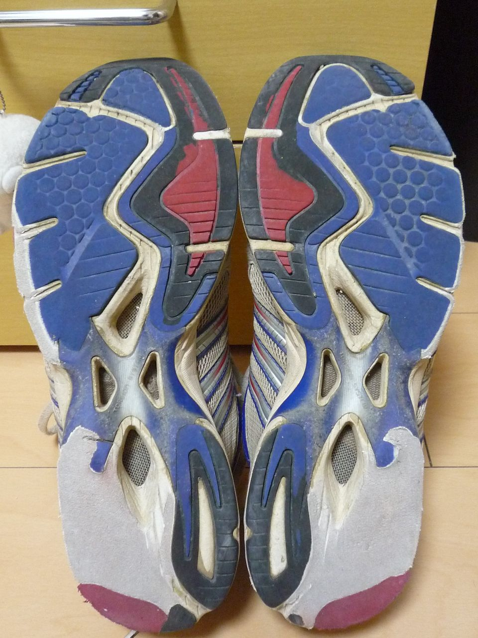靴 減り方 理想