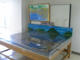 三原城模型