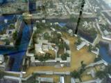 三原城模型 本丸部分