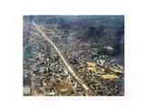 三原市街地空撮1988
