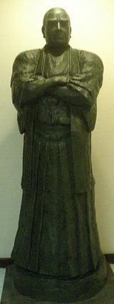 鹿児島指宿白水館の西郷隆盛像