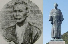 万次郎_肖像&銅像