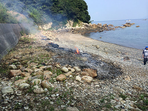 海の日バァ浜ビーチクリーン