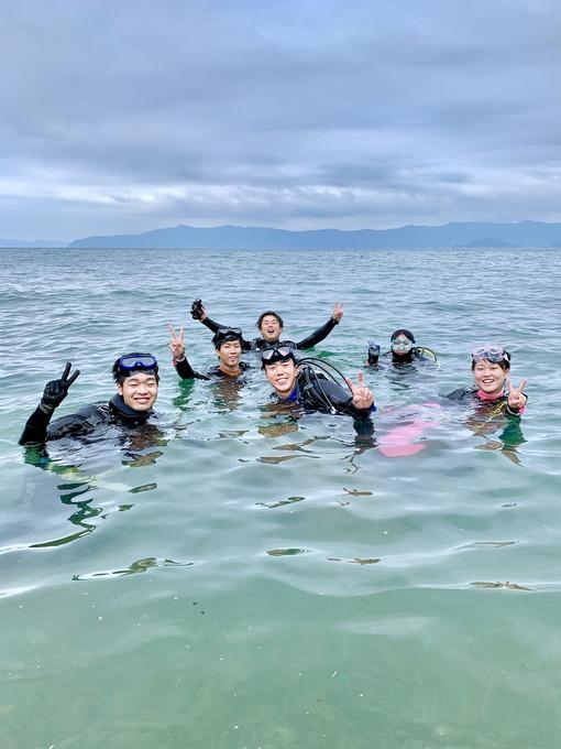 バー浜ダイビング
