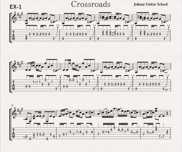 Crossroads EX-1