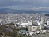 静岡県庁からの風景