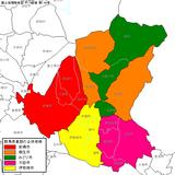 群馬県東部の合併