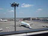成田空港の様子