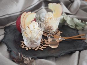 りんごアイス(完成)②