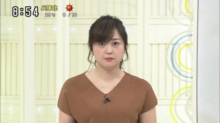水卜麻美 タンクトップ透け スッキリ 190518