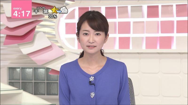 中島芽生 おっぱいのふくらみ every.   180712
