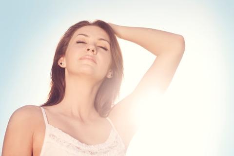 髪の紫外線で老化防止と頭皮のUVケアをする